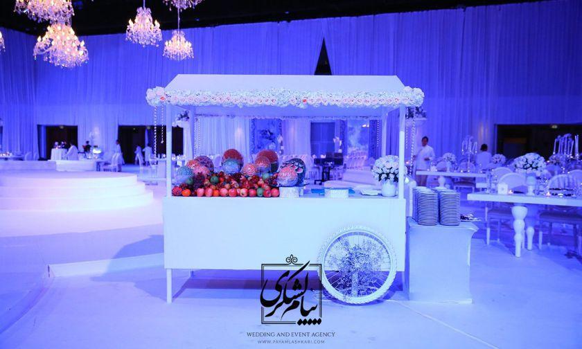مراسم عروسی در فصل زمستان