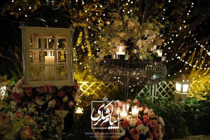 همه چیز درباره یک باغ عروسی لوکس لشکری