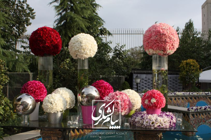 ایده های جالب و خلاقانه برای دکوراسیون باغ تالارها